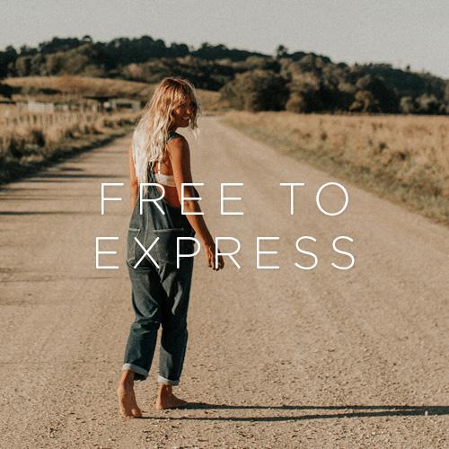 free to express