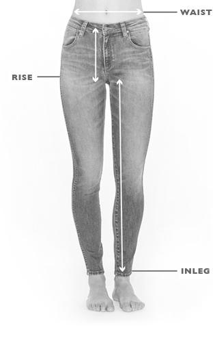 Women S Size Guide Wrangler Australia