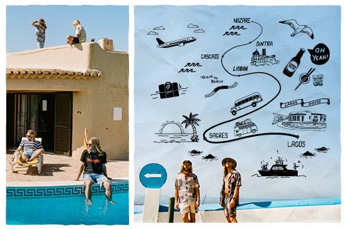 Ocean Alley for Wrangler Australia Summer Campaign 2018