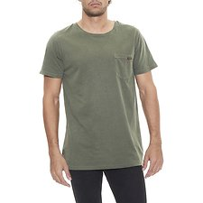 Image of Wrangler Military Pigment Stomper Tee Military Pigment