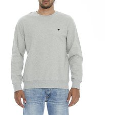 Image of Wrangler Grey Marle Classic Crew Grey Marle