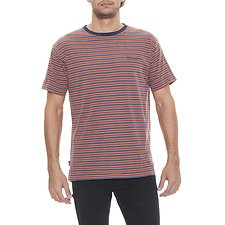 Image of Wrangler Multi Stripe Vedder Tee Multi Stripe