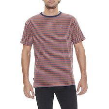 Image of Wrangler Multi Stripe Vedder Tee Multi Stripe