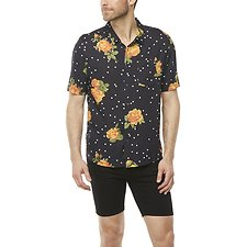 Image of Wrangler Summer Bloom Garageland Shirt Summer Bloom