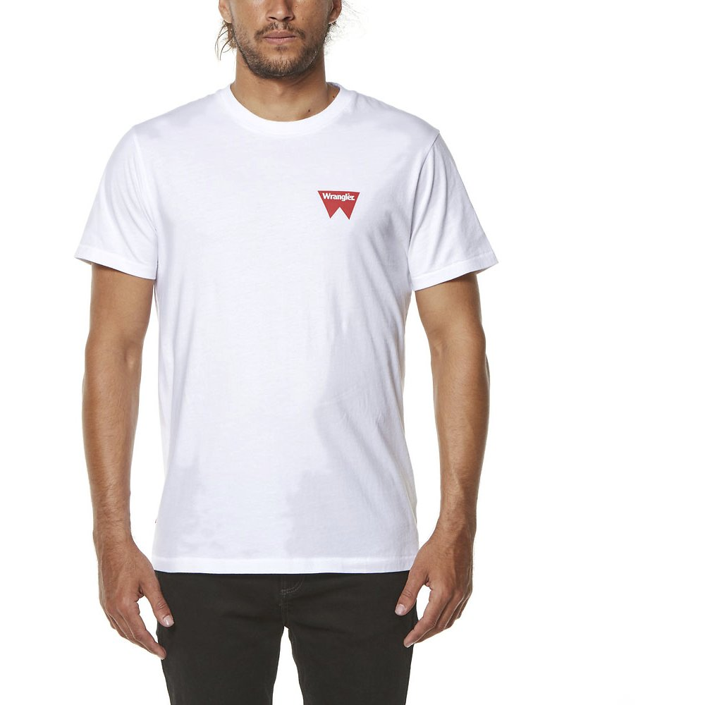 Image of Wrangler White Fangs Hit Tee White