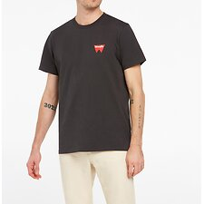 Image of Wrangler Black Fangs Hit Tee Black