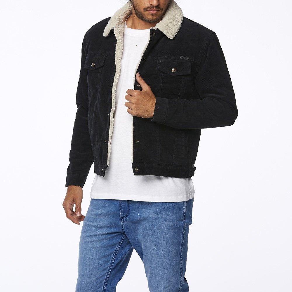 Image of Wrangler Black Barlow Jacket Black