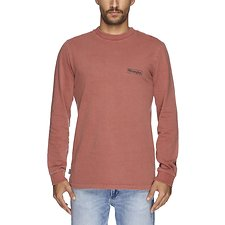 Image of Wrangler Cedar Rough Notes LS Tee Cedar