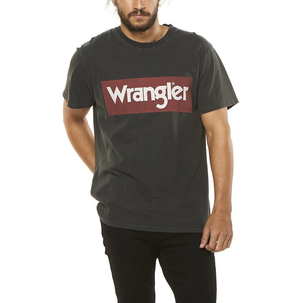 Image of Wrangler Vintage Black Uptown SS Tee Vintage Black