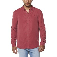 Image of Wrangler Brick Doing It Clean Shirt Brick