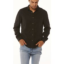 Image of Wrangler Washed Black Doing It Clean Shirt Washed Black