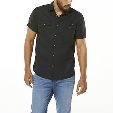 Image of Wrangler Washed Black Latest Tricks Shirt Washed Black