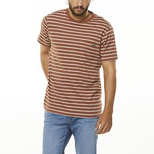 Image of Wrangler Dirt Stripe Every Street Tee Dirt Stripe