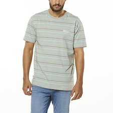 Image of Wrangler Foam Stripe Vedder Tee Foam Stripe