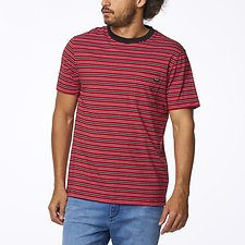 Image of Wrangler Red Stripe Every Street Tee Red Stripe