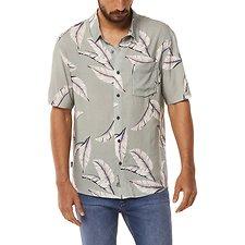 Image of Wrangler Tonal Palms Garageland Shirt Tonal Palms