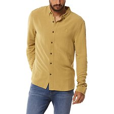 Image of Wrangler Green Sulphur Doing It Clean Shirt Green Sulphur