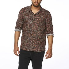 Image of Wrangler Multi Print Last Drinks Shirt Multi Print