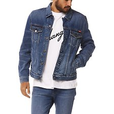 Image of Wrangler Worn Indigo Locals Trucker Worn Indigo