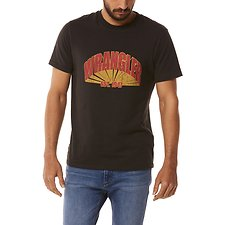 Image of Wrangler Worn Black Shadows Tee Worn Black