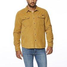 Image of Wrangler Mustard Parallels Shirt Mustard