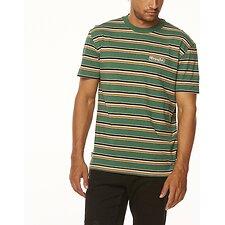Image of Wrangler Green Stripe Vedder Tee Green Stripe