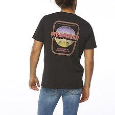 Image of Wrangler Worn Black Ramblin' Tee Worn Black