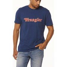 Image of Wrangler Vintage Navy Ziggy Tee Vintage Navy