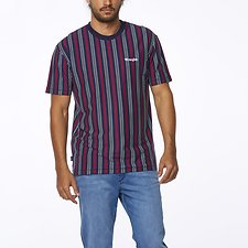 Image of Wrangler Navy/red Vertical Vault Tee Navy/Red