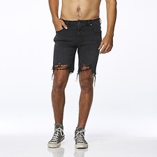 Image of Wrangler Black Crowe Smith Short Black Crowe