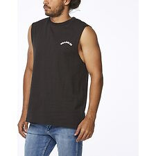 Image of Wrangler Worn Black Night Drives Muscle Worn Black