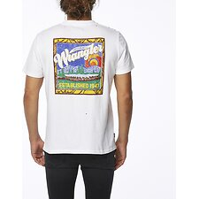 Image of Wrangler White Looking Out Tee White