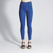 Picture of Hi Pins Jean Twist Blue