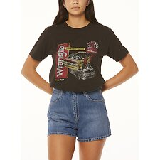 Image of Wrangler Worn Black Races Tee Worn Black