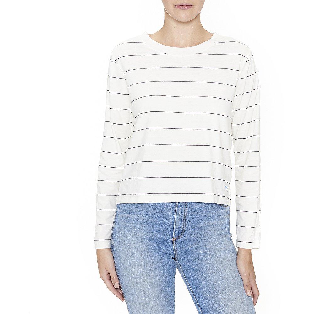Image of Wrangler Vintage White Uptown Stripe Top Vintage White
