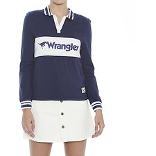Image of Wrangler Desert Navy Jeans Team Sports Jersey Desert Navy