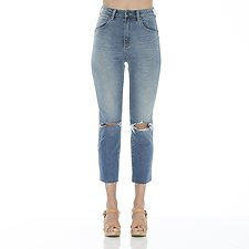 Picture of Hi Peggy Cropped Jean Wasson Destruct