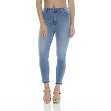 Picture of Hi Pins Cropped Jean Naomi Blue