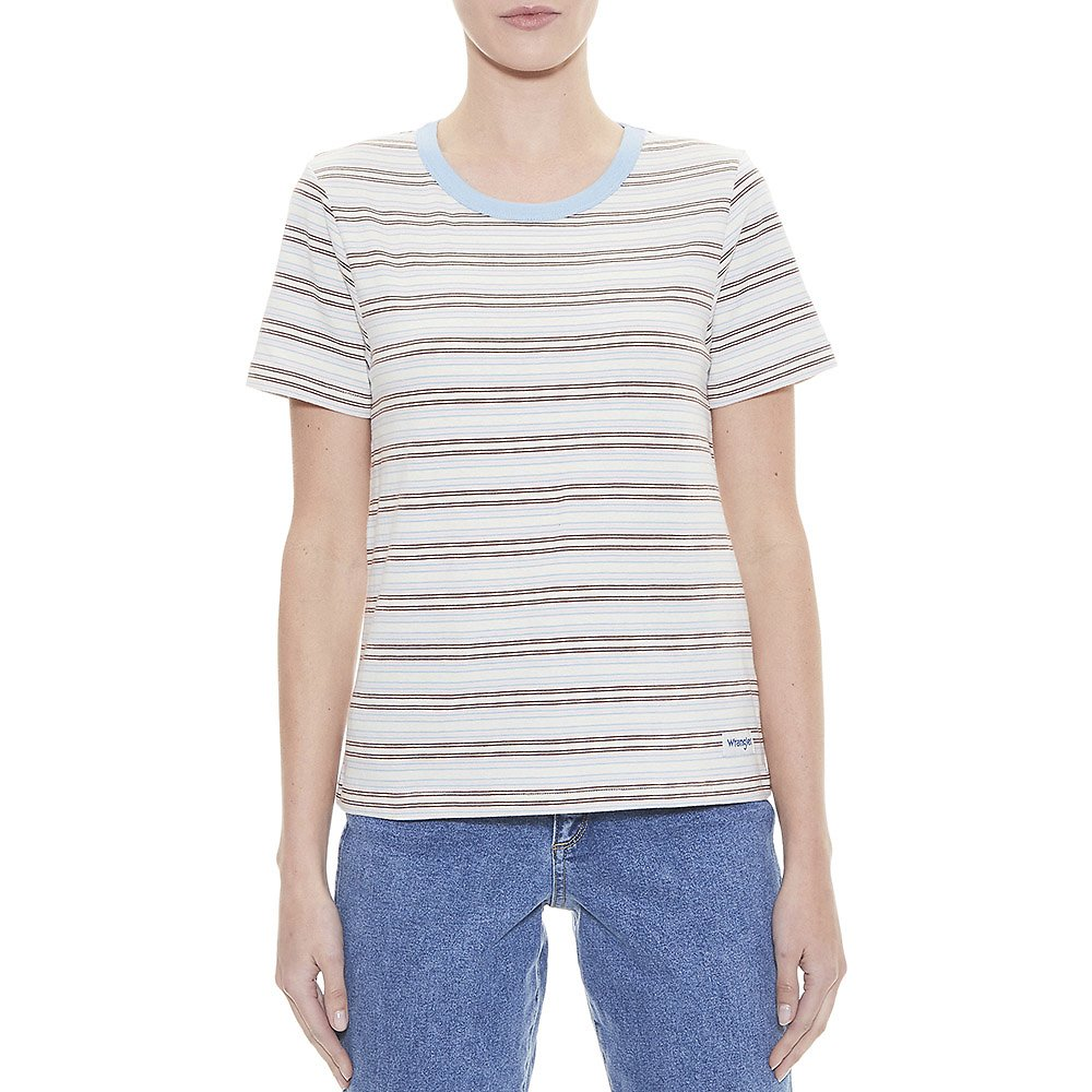 Image of Wrangler Multi Stripe Fonda Tee Multi Stripe