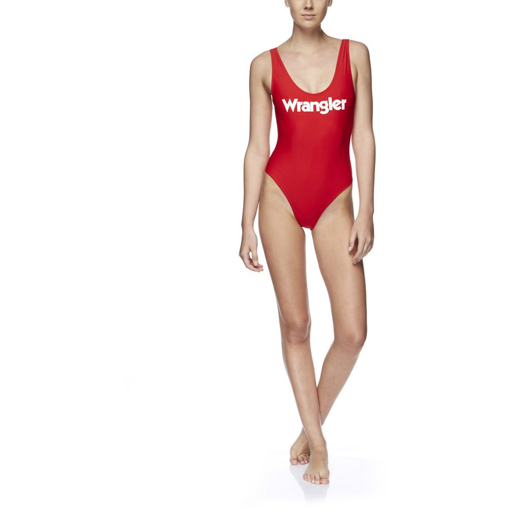Image of Wrangler Baywatch Red Gia One Piece Baywatch Red a8654f784