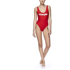 Picture of Gia One Piece Baywatch Red