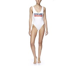 Picture of Gia Malibu One Piece  White/Navy/Red