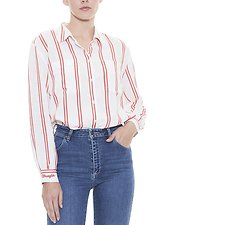 Picture of Classic Stripe Shirt Red Stripe