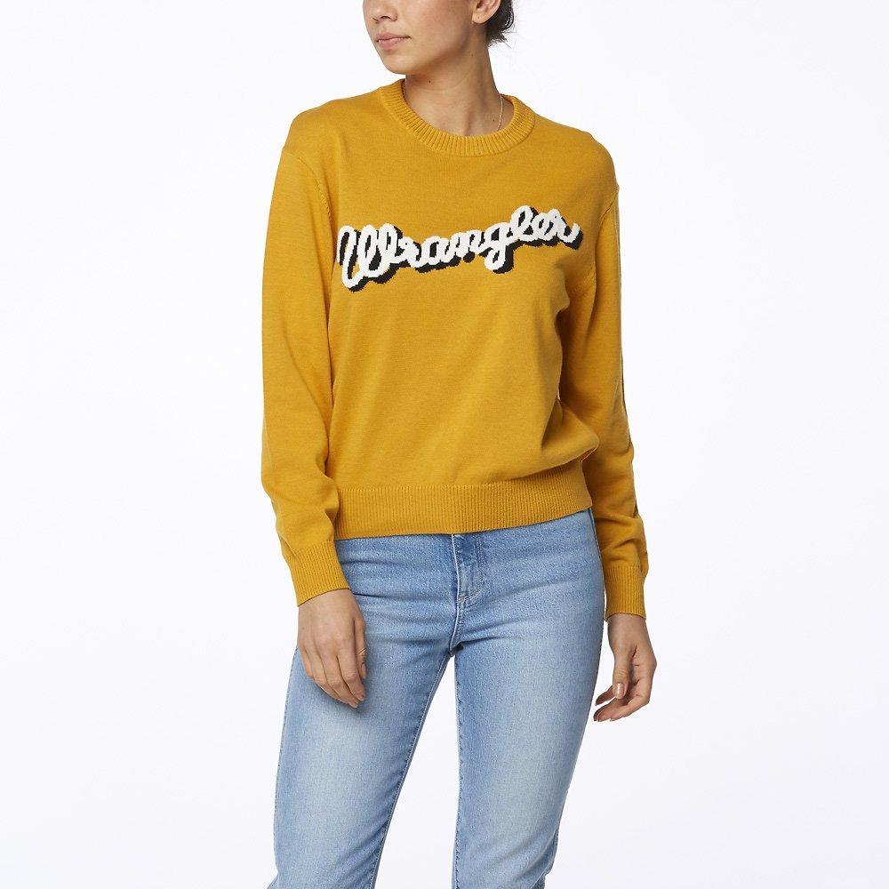 Image of Wrangler Vintage Gold Maggie Sweater Vintage Gold