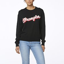 Image of Wrangler Red Shadow Maggie Sweater Red Shadow