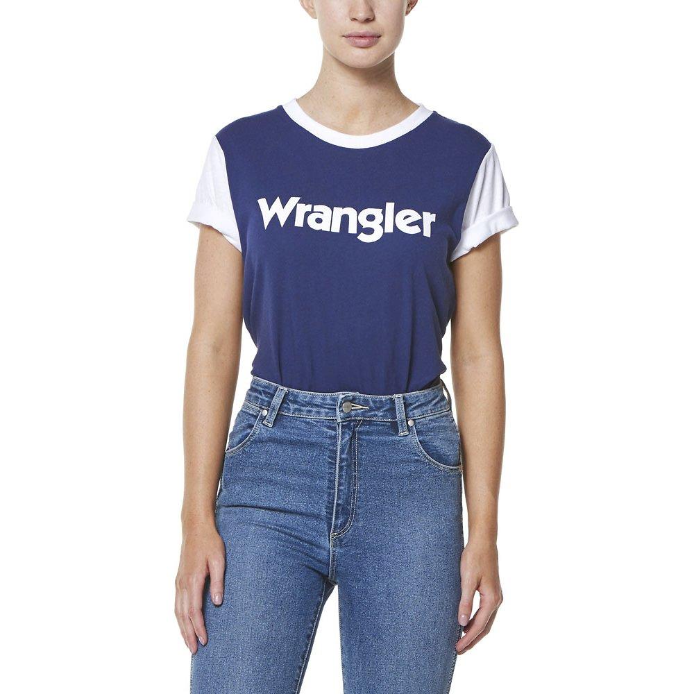 Image of Wrangler Navy/White Rookie Tee Navy/White