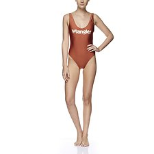 Picture of Gia One Piece Metallic Spice