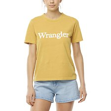 Image of Wrangler Vintage Gold Topanga Tee Vintage Gold