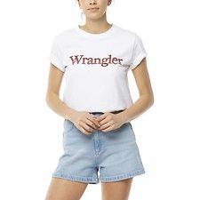 Image of Wrangler White Topanga Tee White