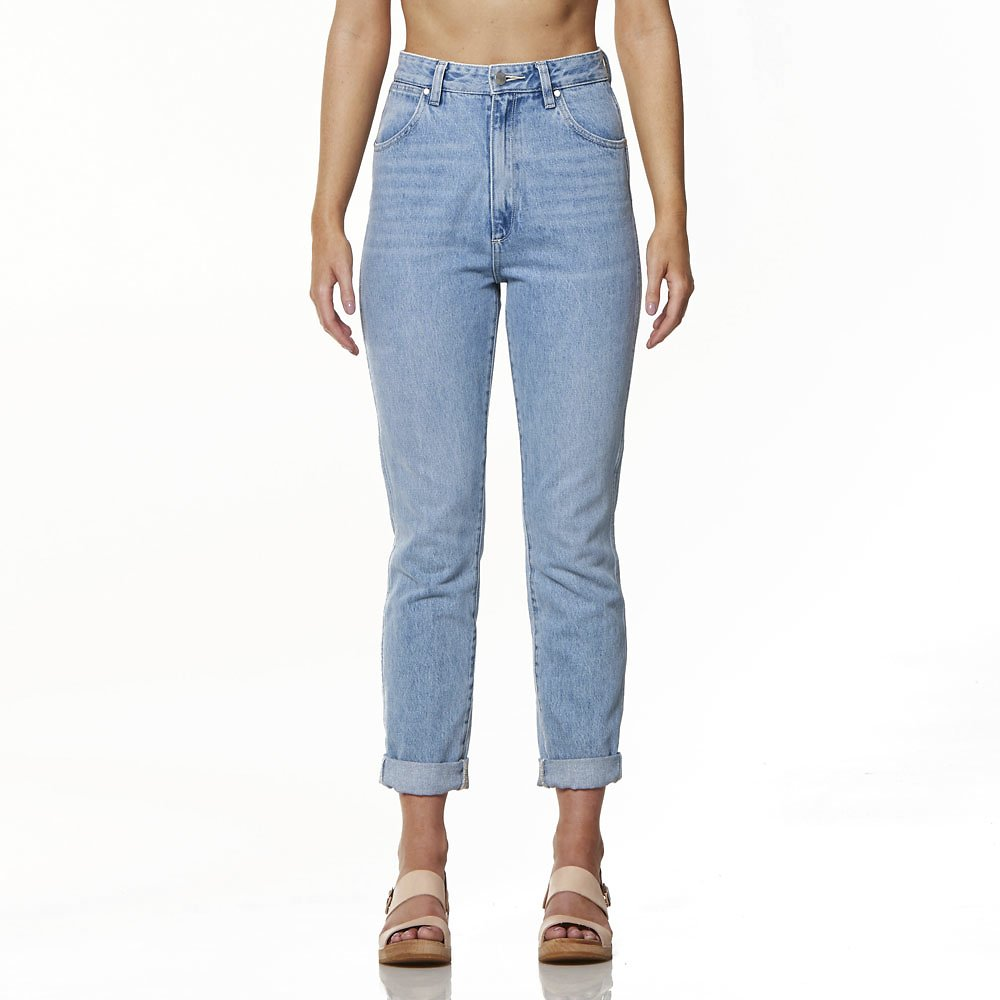 Image of Wrangler Faded Blue Liv Jean Faded Blue